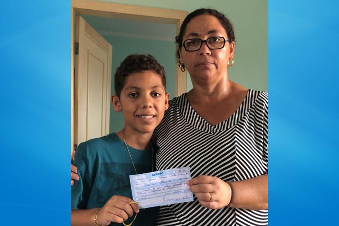 Caculé: Rifa entre amigos arrecada R$3.420,00 que ajudará no tratamento do Gabriel