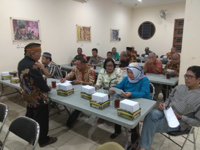 Tingkatkan Komunikasi dengan Tokoh Masyarakat Kelurahan Nusukan