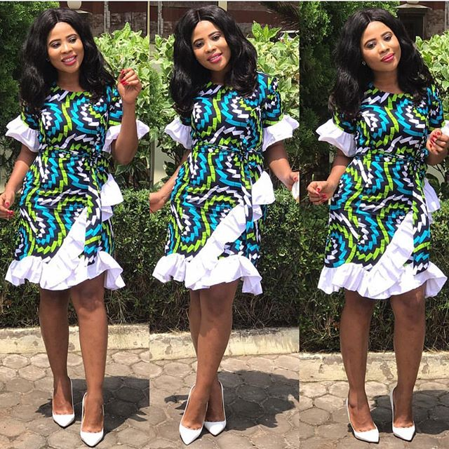 Trendy Ankara Wrap Dress Styles for Fashionistas to Slay - Zaineey\'s ...