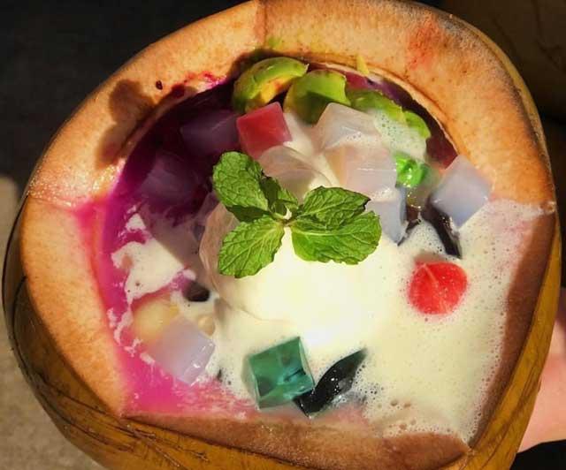 kuliner lampung fruits coconut