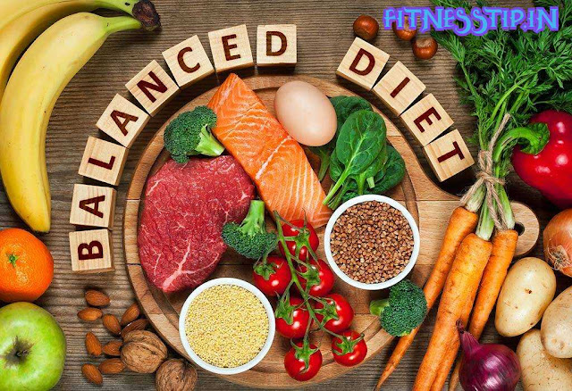 healthy and balanced diet, its benefits and diet chart