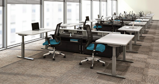 Mayline RGE Height Adjustable Tables