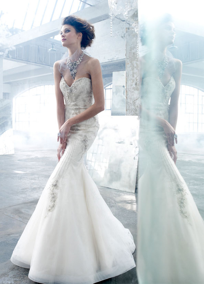 najnowsza moda ślubna 2017