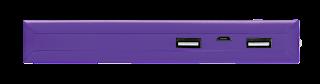 trust 22750 power bank 10000mah violeta