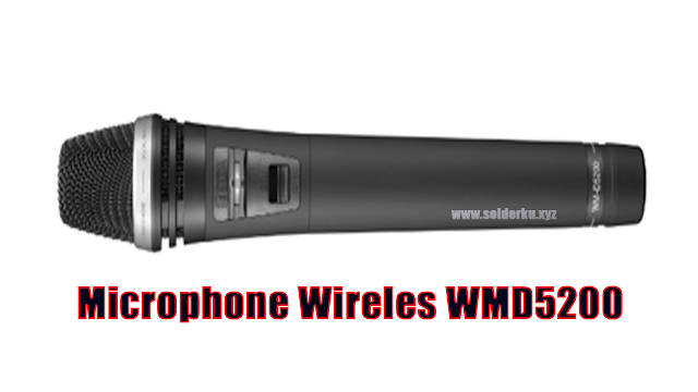Spesifikasi Microphone Wireles WMD5200