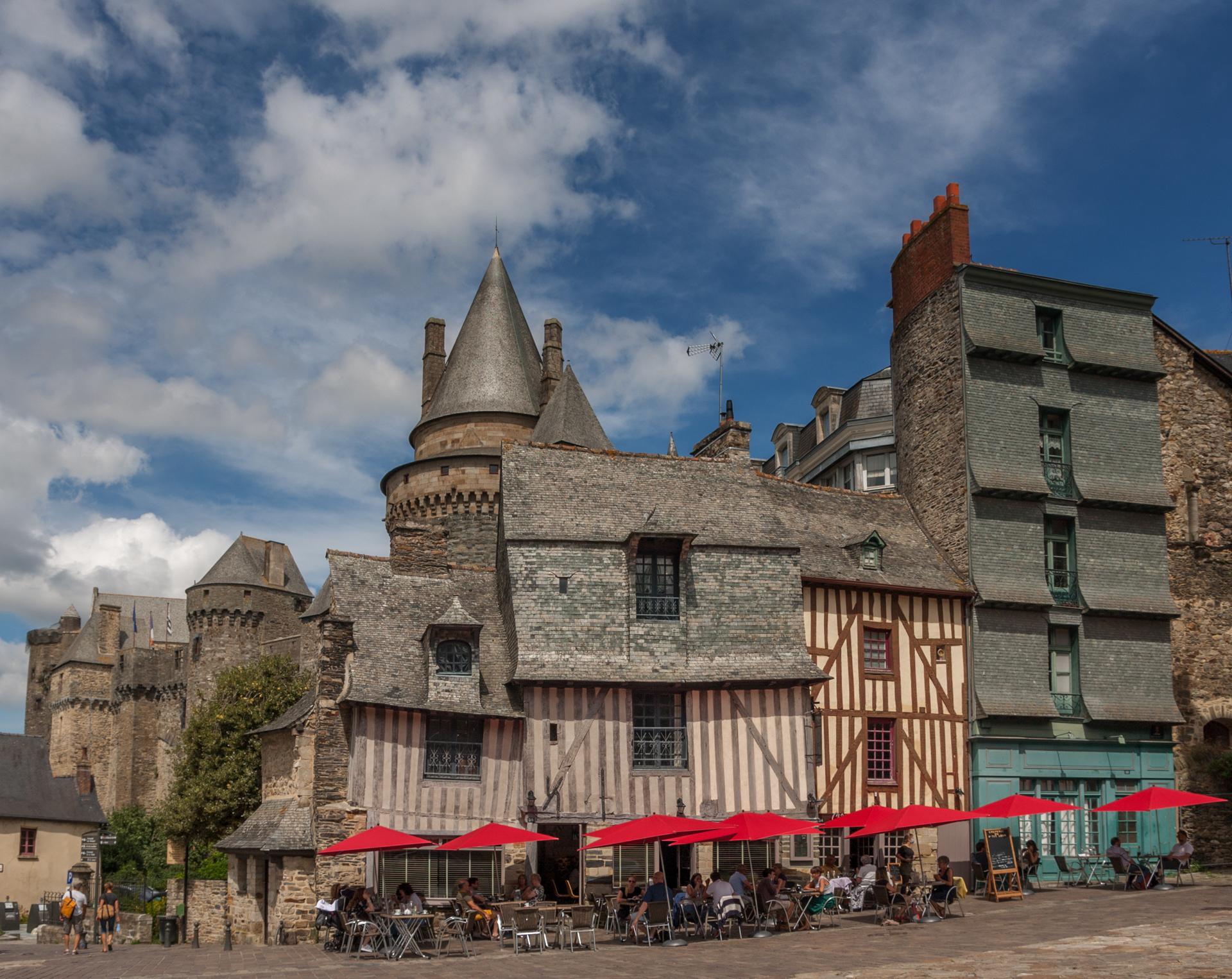 vitré chateau medieval