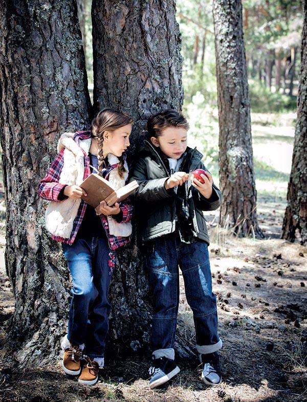 Moda invierno 2018: camperas, chalecos, camisas otoño invierno 2018 niños y niñas.