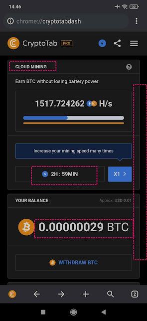 Update Cara Cepat Menghasilkan Bitcoin dari Cryptoab Browser (Cloud Mining)