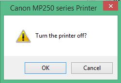 mematikan printer