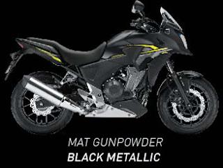 Honda CB500x terbaru 2016 hitam