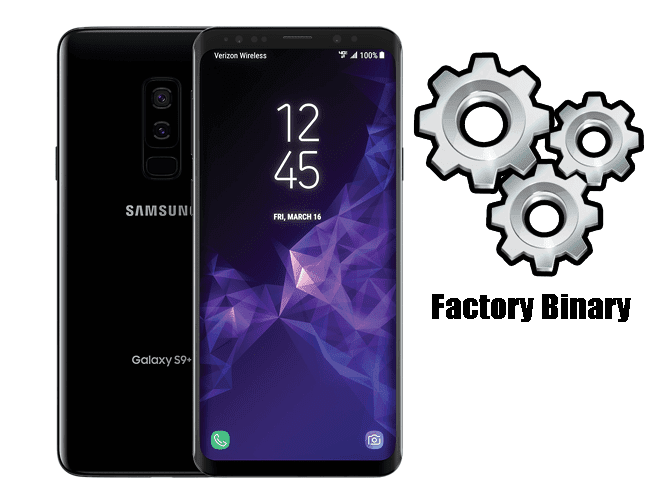 Samsung Galaxy S9 Plus SM-G965U Combination Firmware