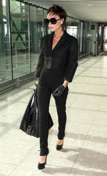 Fashionista 06340 Celebrity Airport Style Kim Kardashian