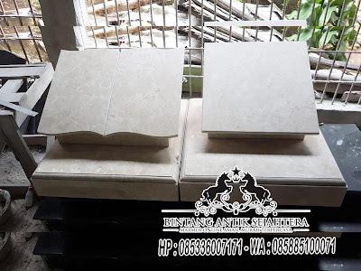 Batu Nisan Marmer Hitam, Jasa Pembuatan Batu Nisan Marmer, Harga Batu Nisan Granit