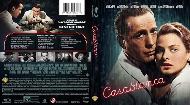 Casablanca Bluray Cover