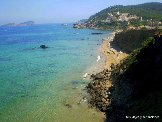 Playa es Figueral, Ibiza