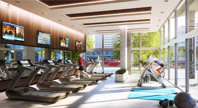 Phòng tập gym dự án MIK Group Mễ Trì