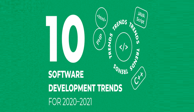 Ten Software Development Trends for 2020–2021 #infographic