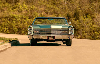 1966 Cadillac Eldorado Cabriolet Green Front