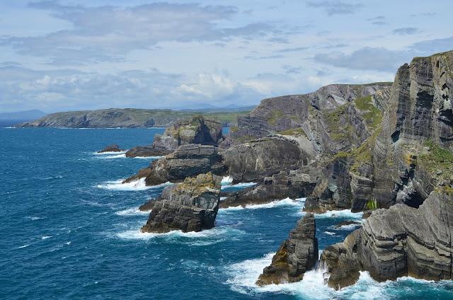 Wild Atlantic Way Ireland coastline