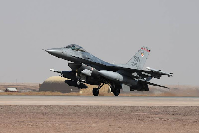 USAF deploys F-16 fighters to Saudi Arabia to strengthen air defense, airstrike capabilities in the area