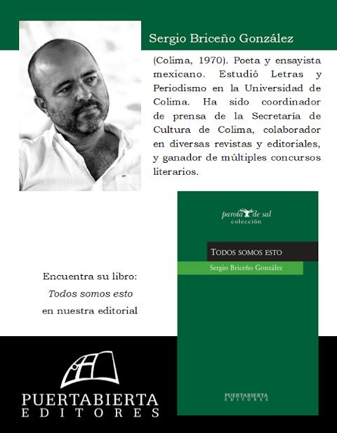 PUERTABIERTA EDITORES Todos somos esto, de Sergio Briceño