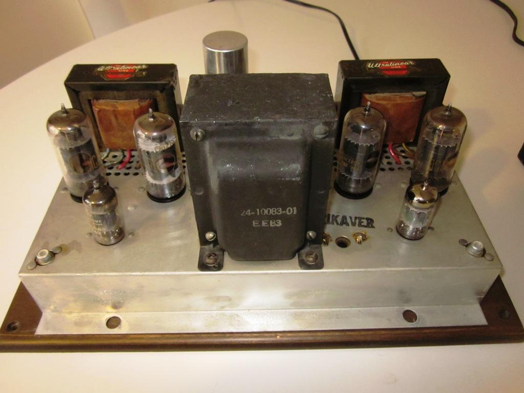 speakerholic electrohome kalmar 120 push pull tube amp with phase linear model 3300 pre amplifier. Black Bedroom Furniture Sets. Home Design Ideas