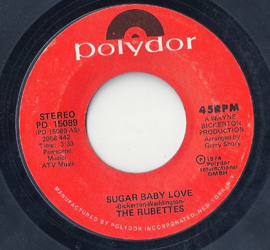 History S Dumpster Quot Sugar Baby Love Quot The Rubettes 1974