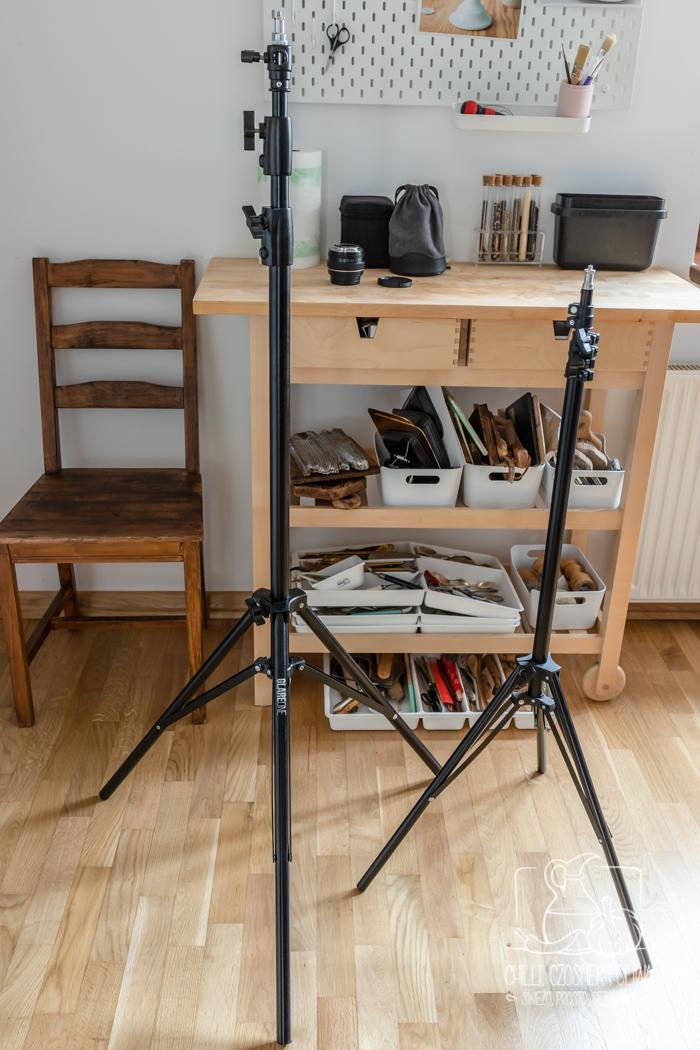 statyw oświetleniowy do lampy fotograficznej