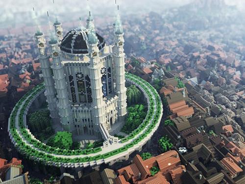Lâu đài là một trong công trình rất rất đáng tò mò đấy nhé!