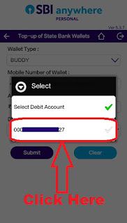 add money in state bank buddy app through sbi anywhere app
