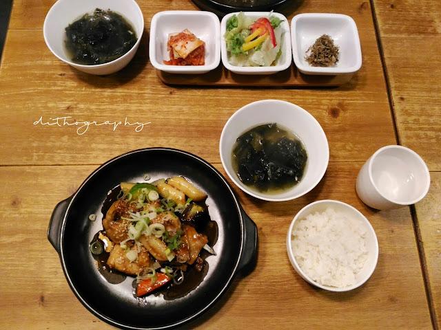 jjimdak, menu di EID  이드 Halal Korean Food - Restoran Korea Halal di Seoul