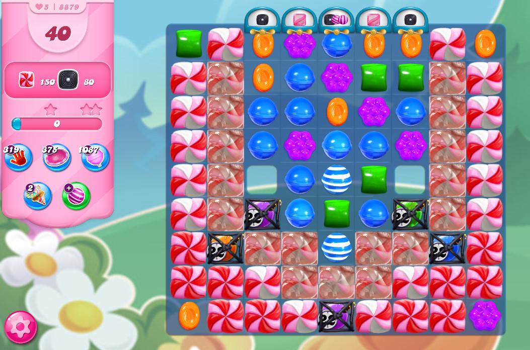 Candy Crush Saga level 8879