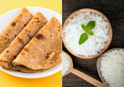 Rice Vs Chapati
