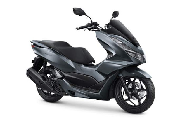 All New PCX160 Warna Gray