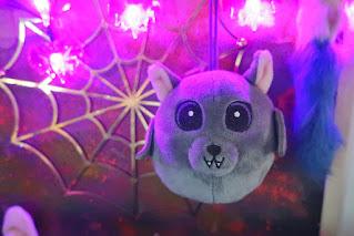 Inspiracje na Halloween nietoperz z biedronki