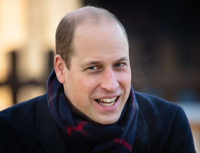Prince William named as 'world's sexiest bald man' in light-hearted Google study