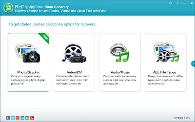 RePicvid free Photo Recovery - Logiciel Multimédia sur Windows
