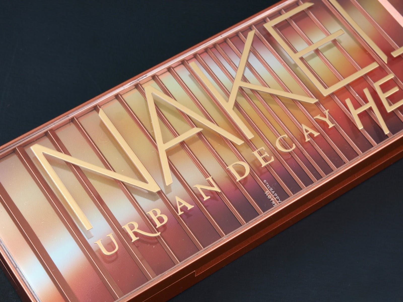 Urban Decay Naked Heat Eyeshadow Palette Swatches and Review