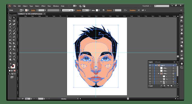 Adobe Illustrator CC 2017 Portable 32Bit   64Bit برنامج أدوبي إلستراتور نسخة محمولة