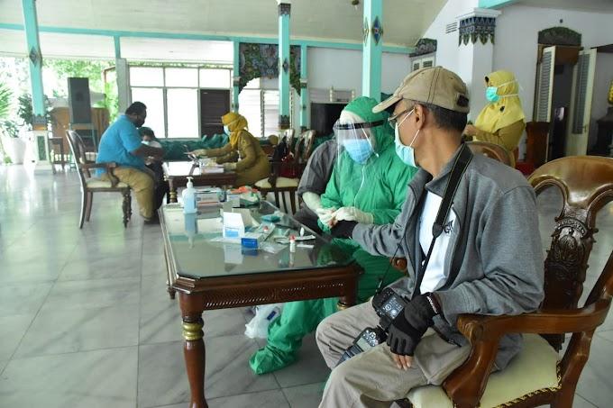 Hasil Rapid Test 38 Wartawan Di Kabupaten Madiun, Seluruhnya Dinyatakan Negatif