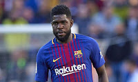 BARCELONA'S SAMUEL UMTITI HAS DRAWN INTEREST FROM MANY CLUBS