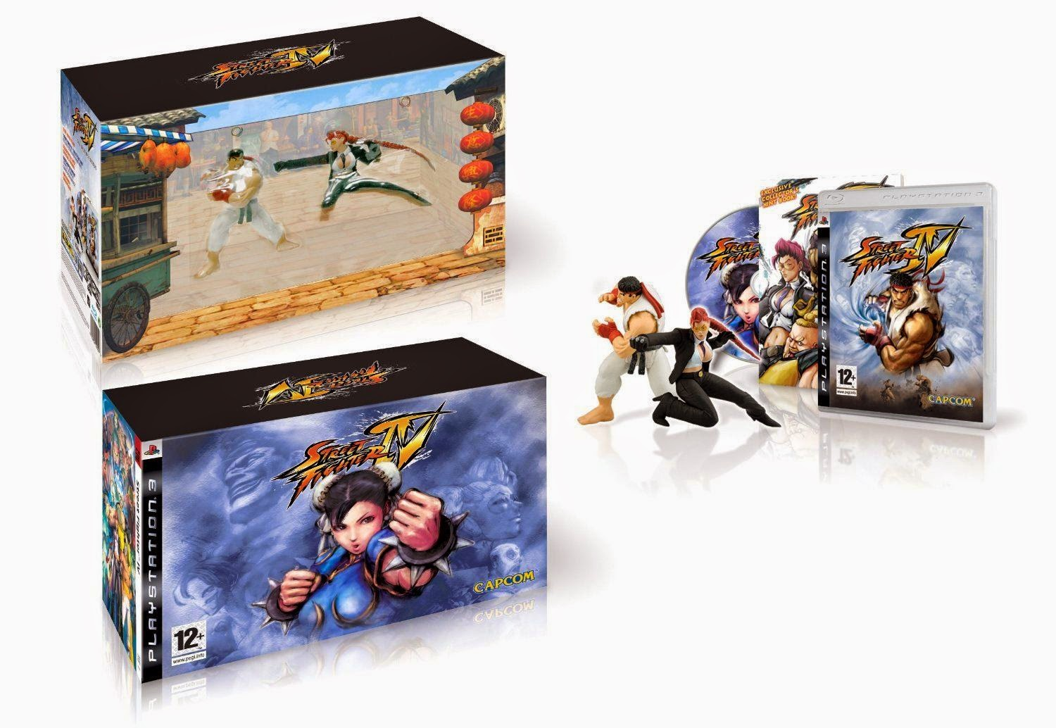 Street Fighter 4 Collector's Edition Playstation 3