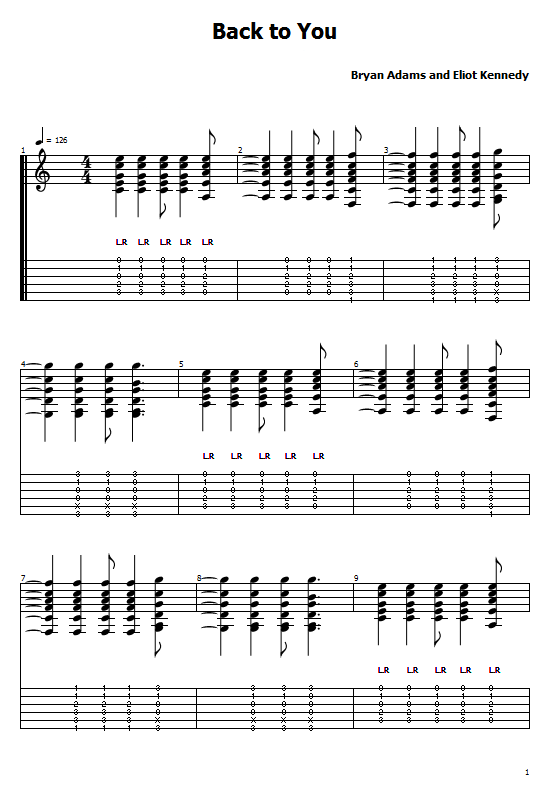 Back to You Tabs Bryan Adams. How to Play Back to You On Guitar, Bryan Adams - Back to You Tabs/ Back to You Chords. Bryan Adams Music