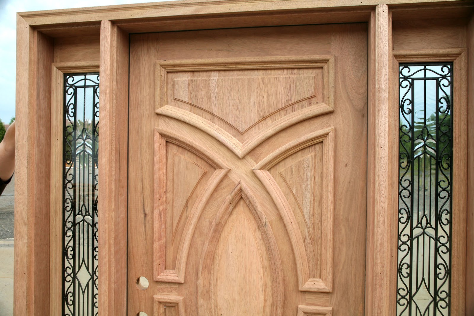 Charmant Exterior Wooden Doors