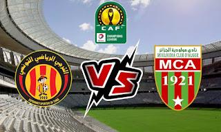 مشاهدة مباراة الترجي ضد مولودية الجزائر 23-2-2021 بث مباشر في دوري أبطال أفريقيا