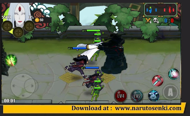 Naruto Senki the Last Fixed Mod