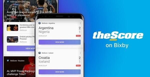 تطبيق Bixby يحصل على ميزة الاخبار الرياضية