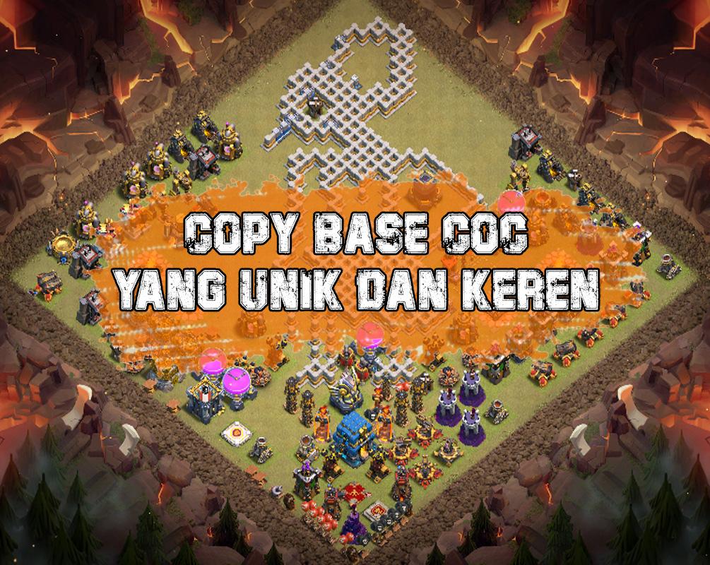 Cara Copy Base COC Orang Lain Tanpa Keluar Clan