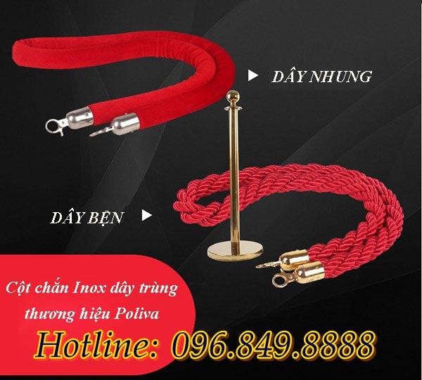 Hai loại dây nhung và dây bện