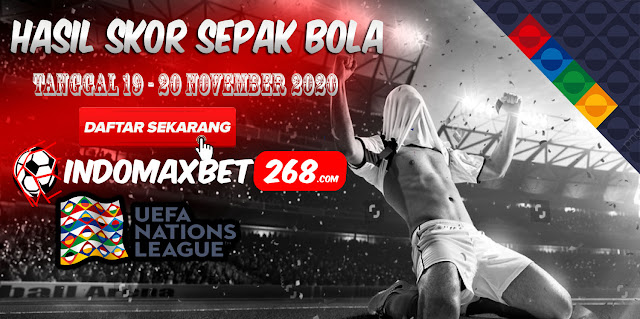 Hasil Pertandingan Sepakbola Tanggal 19 - 20 November 2020